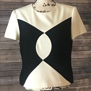Black and White Liz Claiborne Top